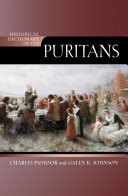 Historical Dictionary of the Puritans Pdf/ePub eBook