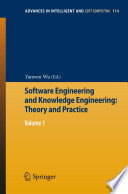 Software Engineering and Knowledge Engineering: Theory and Practice