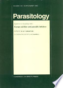 Human Nutrition And Parasitic Infection Volume 107 Parasitology Supplement 1993 Book PDF