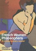 French Women Philosophers