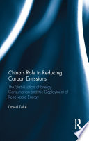 China S Role In Reducing Carbon Emissions Book PDF