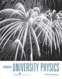 Essential University Physics Book