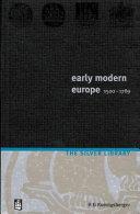 Early Modern Europe  1500 1789