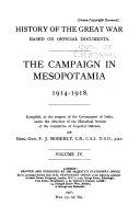 The Campaign in Mesopotamia 1914 1918
