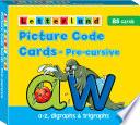 Books - Letterland Pre-cursive Picture Code Cards | ISBN 9781862092419