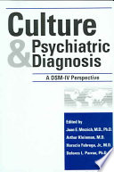 Culture And Psychiatric Diagnosis