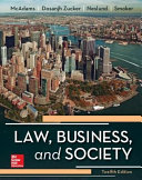 Law  Business and Society Book
