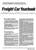 Progressive Railroading Freight Car Yearbook and Buyers Guide