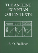 The Ancient Egyptian Coffin Texts