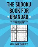 The Sudoku Book for Grandad