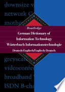 Routledge German Dictionary of Information Technology