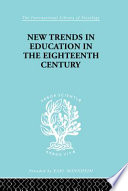 New Trends In Education In The Eighteenth Century