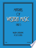 Materials of Western Music Book