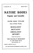 Nature Books  Popular and Scientific