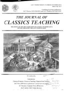 The Journal of Classics Teaching