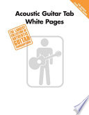 Acoustic Guitar Tab White Pages  Songbook