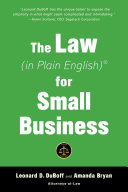 The Law (in Plain English) for Small Business (Fifth Edition) Pdf/ePub eBook