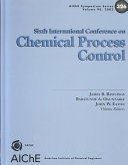 Chemical Process Control VI