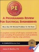 A Programmed Review for Electrical Engineering Book