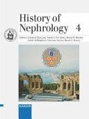 History Of Nephrology 4 Book