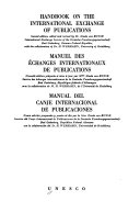 Handbook On The International Exchange Of Publications