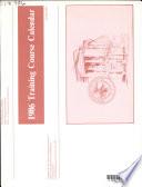 Training Course Calendar Book