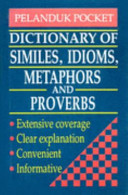 Dictionary Of Similes Idioms Metaphors And Proverbs PDF