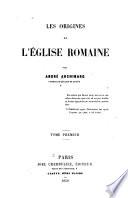 Les origines de l'église romaine