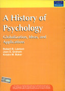 History of Psychology Globalization  Ideas and Applications
