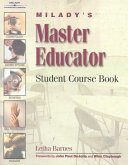 Miladys master educator student course book for trainees to become front cover fandeluxe Images