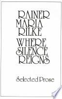 Where Silence Reigns