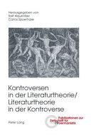 Kontroversen in der Literaturtheorie/Literaturtheorie in der Kontroverse