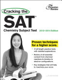 Cracking the SAT Chemistry Subject Test  2013 2014 Edition
