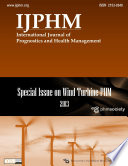 Ijphm Special Issue On Wind Turbine Phm Color  Book PDF