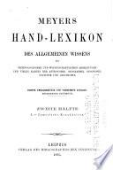 Meyers Hand Lexikon Des Allgemeinen Wissens  Bd  L Zymotische Krankheiten Book