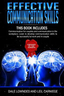 Effective Communication Skills Book