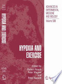 Hypoxia And Exercise Book PDF