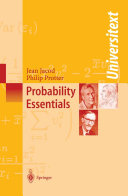 Probability Essentials [Pdf/ePub] eBook