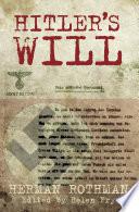Hitler s Will