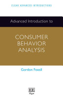 Advanced Introduction to Consumer Behavior Analysis