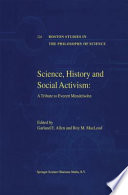 Science History And Social Activism