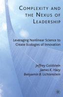 Complexity and the Nexus of Leadership [Pdf/ePub] eBook