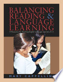 Balancing Reading   Language Learning Book