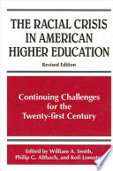 Racial Crisis in American Higher Education  The Book PDF
