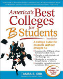 America s Best Colleges for B Students Book