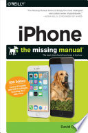 """""""IPhone: The Missing Manual: The Book that Should Have Been in the Box"""" by David Pogue"""