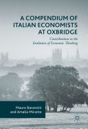 A Compendium of Italian Economists at Oxbridge