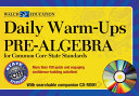 Daily Warm Ups  Pre Algebra Common Core Standards