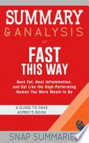 Summary   Analysis of Fast This Way