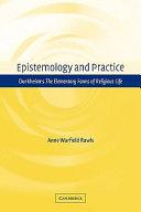 Epistemology and Practice